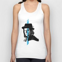 jack white Tank Tops featuring Jack White by nufertity