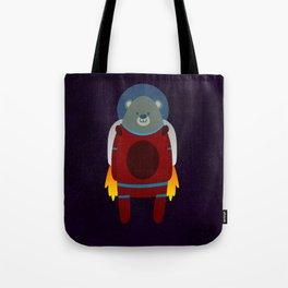Major Ursa from Ursa Minor: Bear in Space Tote Bag