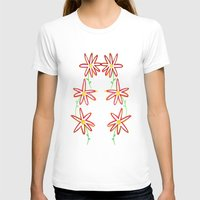 daisies T-shirts featuring Daisies by Angelz