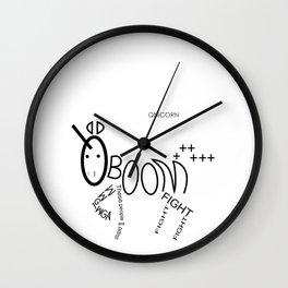 QNICORN (Q unicorn) Wall Clock