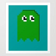 Pac Man Enemy  Art Print