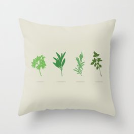 Scarborough Fair Throw Pillow
