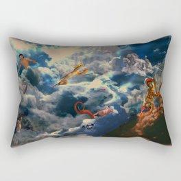 Battle of the Gods Rectangular Pillow