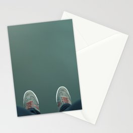 The green abyss Stationery Cards