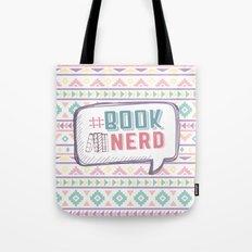 #BookNerd Pastel Tote Bag