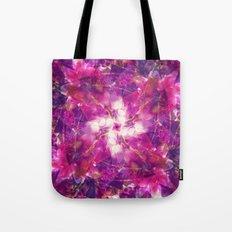Pink Floral Mandala Tote Bag