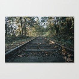 Shawnigan Tracks Canvas Print