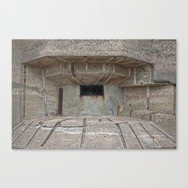 Jersey War Bunker Canvas Print