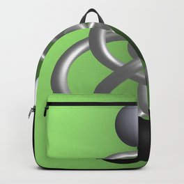 escaped -3of3- green Backpack