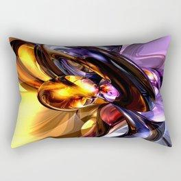 Alluring Grace Abstract Rectangular Pillow