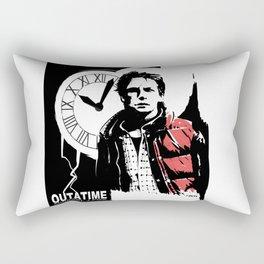 Outatime Rectangular Pillow