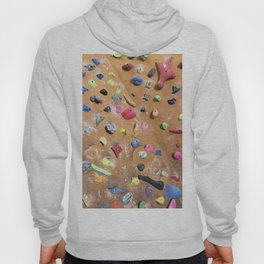 Wooden boulders climbing gym bouldering photography Hoody