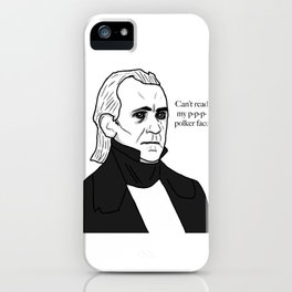 Polker-Face iPhone Case