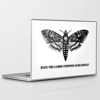 silence of the lambs Laptop & iPad Skins featuring The lambs by Nightwatcher