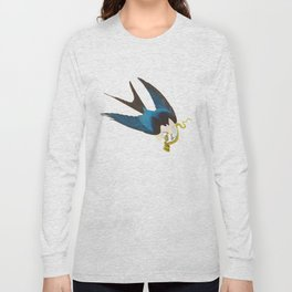 Swallow-tailed Hawk Long Sleeve T-shirt