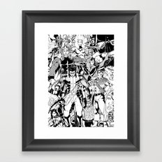 Whose Side Are You On? Framed Art Print