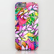Grunge Art Floral Abstract G130 Slim Case iPhone 6s