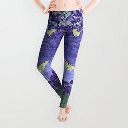violet night Leggings
