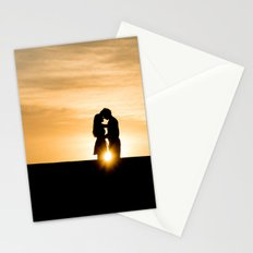 down the horizons Stationery Cards