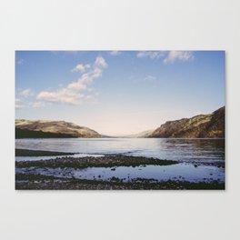 sunset. ullswater, lake district, uk Canvas Print