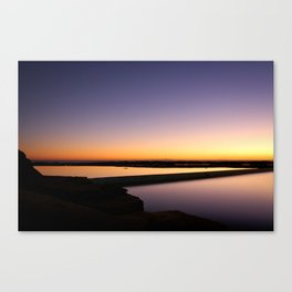 Light Reflecting Light Canvas Print