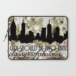 Classy and Fabulous Laptop Sleeve