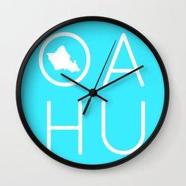 OAHU Wall Clock