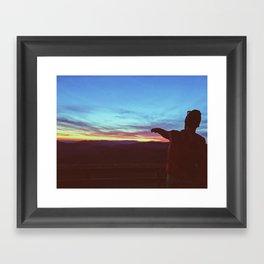Wesser Bald •Appalachian Trail Framed Art Print