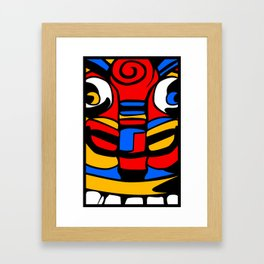 TIKI Framed Art Print