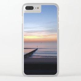 Aberdeen Sunrise Clear iPhone Case