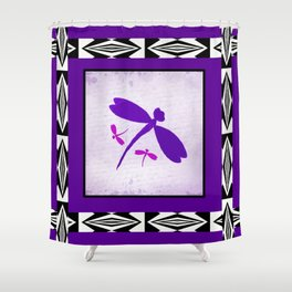Butterflies at Play Shower Curtain