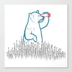 DA BEARS - SEARCHING Canvas Print