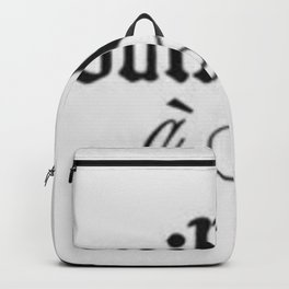 Bisous Backpack