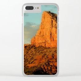 RED ROCKS - SEDONA ARIZONA Clear iPhone Case