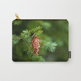 Spikey Pine Cone Carry-All Pouch