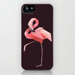 Flamingo. iPhone Case