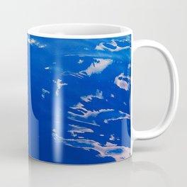 Neon Blue Ocean Coffee Mug
