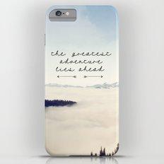 the greatest adventure- mountains Slim Case iPhone 6 Plus