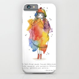 Clothed with Love iPhone Case