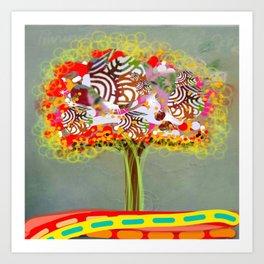Wonder Tree Art Print