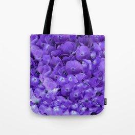 Amethyst  Hydrangea Flowers Garden Art Tote Bag