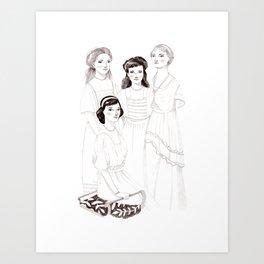 The Grand Duchesses Art Print