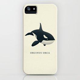 Orcinus Orca iPhone Case