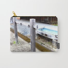 Empty Trough, Overflowing Gutter Carry-All Pouch