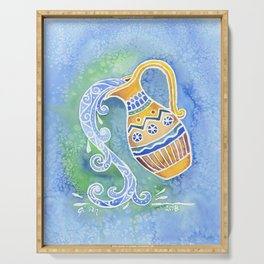 Zodiac Collection: Aquarius Serving Tray