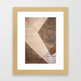 Texture I Framed Art Print