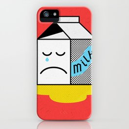 No Point Crying iPhone Case