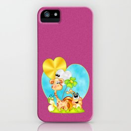 The Love of Friendship iPhone Case