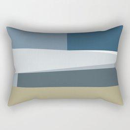 Santa Monica Horizon Midday Rectangular Pillow