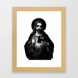 Kvlt Jesus Christ Framed Art Print